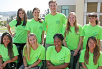 photo of the Peer Educators group