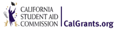Image: calgrants.org logo - California Student Aid COmmission