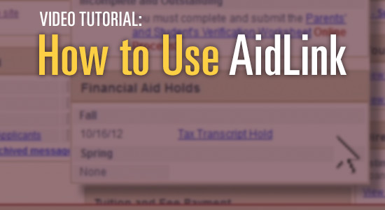 How to use AidLink