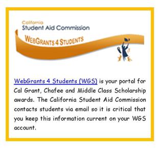 Cal Grants Apply or Renew | SDSU