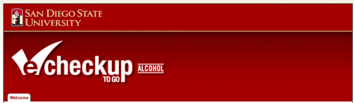 alcohol e checkup logo and link to site