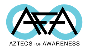 Logo: Aztecs for awareness