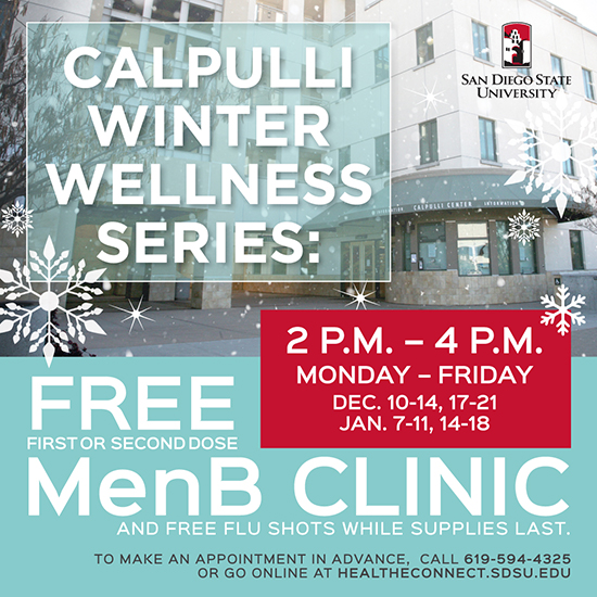 Calpulli Winter wellness M-F 2-4p, see below for dates, call for appt