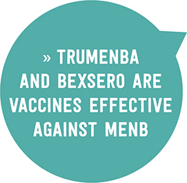 discuss the importance of getting vaccinated for menb