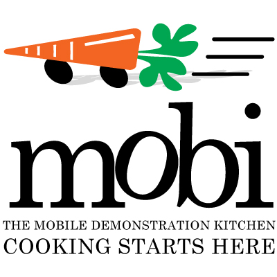 the mobile deomonstation kitchen cooking starts here