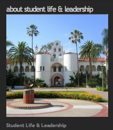 About Student Life and Leadership: Photo of Hepner Hall