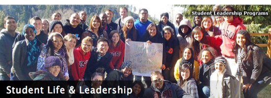 Photo: Student Life and Leadership: Student leadership programs