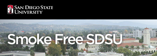 graphic: Smoke Free SDSU