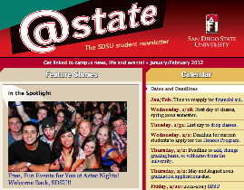sample of the @State masthead