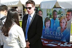 Photo: SDSU Career Fair