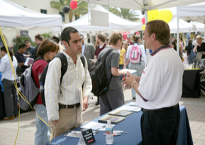 Photo: Career Fair at SDSU