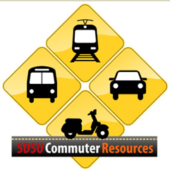 logo: SDSU Commuter Resources