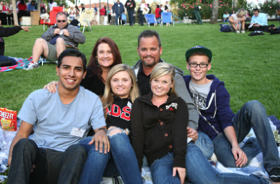 Photo: SDSU family group