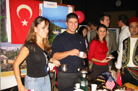 Photo: SDSU international student event