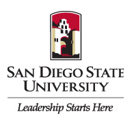 SDSU leadership starts here logo
