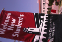 Welcome banner at SDSU