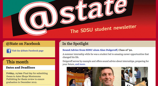@State - the SDSU Student Newsletter