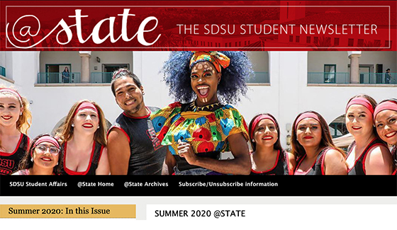 The SDSU Student Newsletter