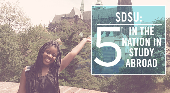SDSU: 5th in the Nation in Study Abroad