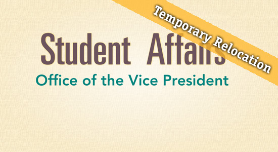 Office of the Vice President - temporary relocation