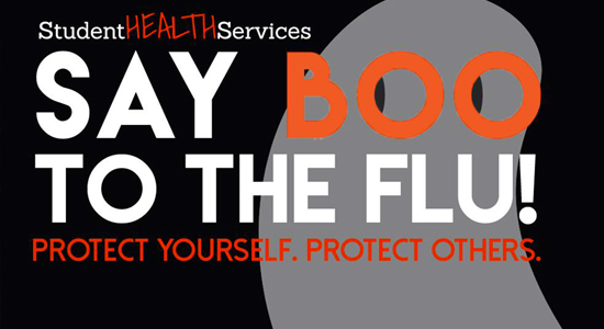 Free flu vaccine is available during October or while supplies last.