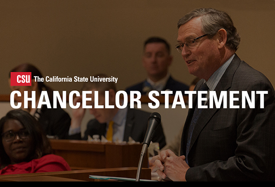 CSU Chancellor Timothy P. White Releases Statement on Supreme Court Ruling on DACA