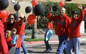SDSU participates in the Martin Luther King Jr. Parade 2008