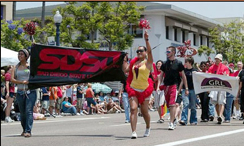 Photo: SDSU participated in San Diego Gay pride parade