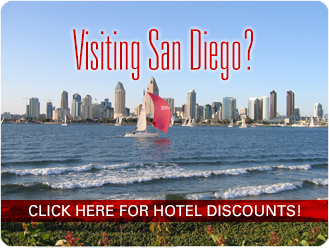 Visiting San Diego? Click here for hotel discounts.