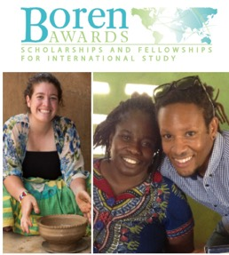 Image: boren awards Scholarships and Fellowships for International Study images of students