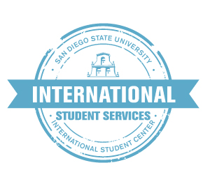 International Student Center stamp icon