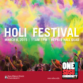 poster for the Holi Festival