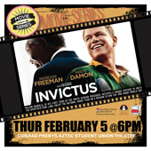 poster fo the movie Invictus