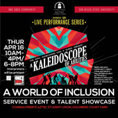 poster for the Kaleidoscope event