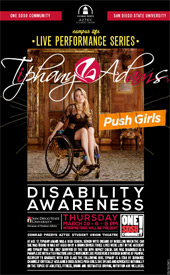 poster for disability Awareness event
