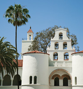 photo of Hepner Hall and Hardy Tower