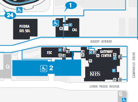 thumbnail view of the campus access map