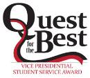 quest for the best student service award logo