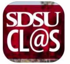SDSU clas (campus life @ state) app logo