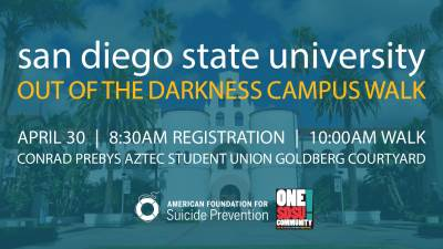 SDSU Out of the Darkness Walk