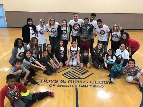 group photo: boys n girls club of SD