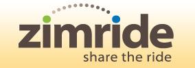 logo: zimride - share the ride