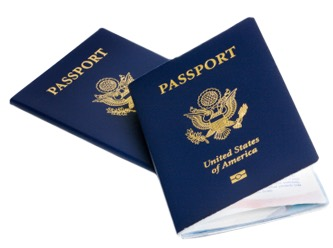 Image: 2 U.S. passports