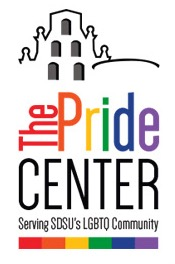 Image: SDSU pride center logo The Pride Center Serving SDSU's LGBTQ Community