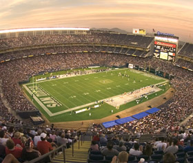 photo: twilight at Qualcomm Stadium