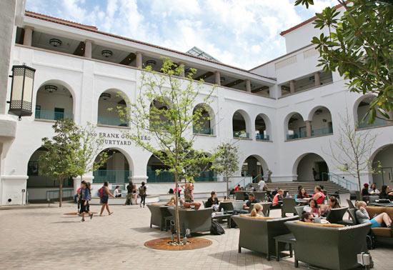 photo: Aztec Student Union courtyard