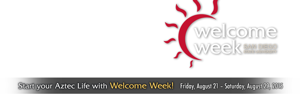 Start your Aztec Life with Welcome Week!