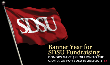 Banner Year for SDSU Fundraising