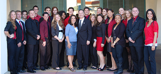 Aztec Pride with President Hirshman