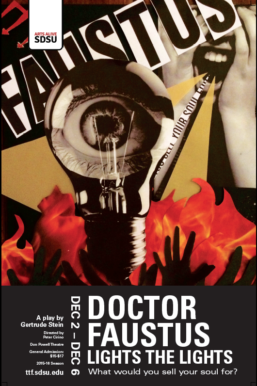 Doctor Faustus Play Poster